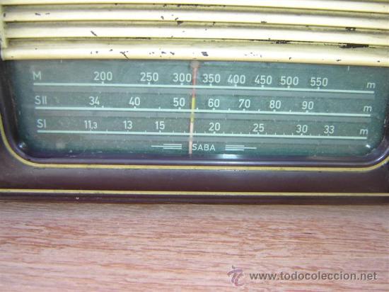 Radios de válvulas: radio de valvula Saba - Foto 4 - 13041043