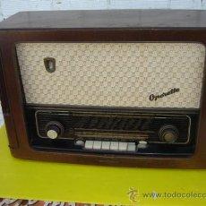 Radios de válvulas: RADIO DE VALVULA OPERETTE. Lote 13341771