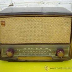 Radios de válvulas: RADIO DE VALVULA BAQUELITA PHILIPS. Lote 13341813