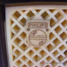 Radios de válvulas: RADIO PHILIPS EN BAQUELITA. Lote 26237991