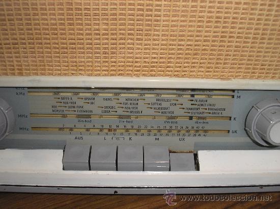 Radios de válvulas: Radio SABA modelo SABINE 11 de 1955- funciona -220V - Foto 2 - 57427910