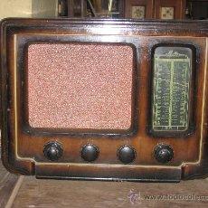 Radios de válvulas: RADIO IBERIA CON CAJA DE MADERA.. Lote 25627166