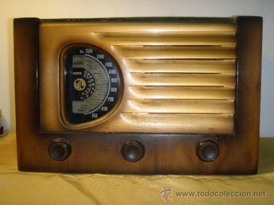 RADIO VICA FUNCIONANDO (Radios, Gramófonos, Grabadoras y Otros - Radios de Válvulas)