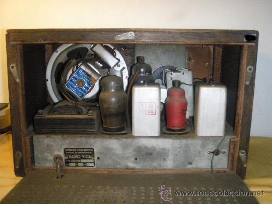 Radios de válvulas: RADIO VICA FUNCIONANDO - Foto 4 - 26311648