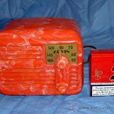 Rádios de válvulas: PEQUEÑA RADIO AMERICANA ARVIN. Lote 26306594