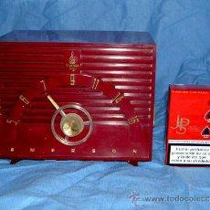Radios de válvulas: PEQUEÑA RADIO AMERICANA EMERSON. Lote 26313510