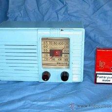 Radios de válvulas: PEQUEÑA RADIO AMERICANA PHILCO. Lote 26313519