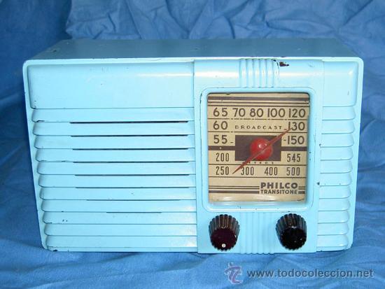 Radios de válvulas: PEQUEÑA RADIO AMERICANA PHILCO - Foto 2 - 26313519