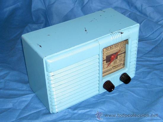 Radios de válvulas: PEQUEÑA RADIO AMERICANA PHILCO - Foto 4 - 26313519
