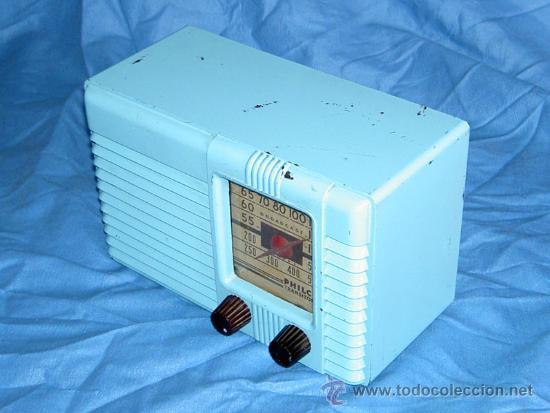 Radios de válvulas: PEQUEÑA RADIO AMERICANA PHILCO - Foto 5 - 26313519