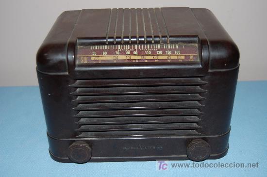 RADIO RCA VICTOR (Radios, Gramófonos, Grabadoras y Otros - Radios de Válvulas)