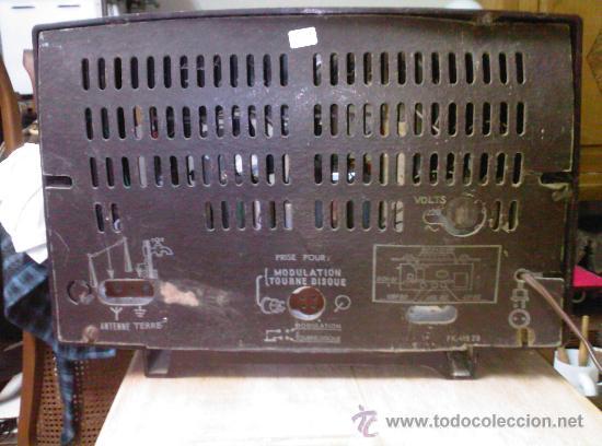 Radios de válvulas: RADIO DE VALVULAS - MARCA RADIOLA . funciona - Foto 2 - 26283778