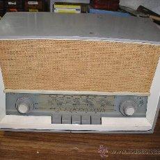 Radios de válvulas: !RADIO SABA MODELO SABINE 11 DE 1955- FUNCIONA -220V. Lote 17445059