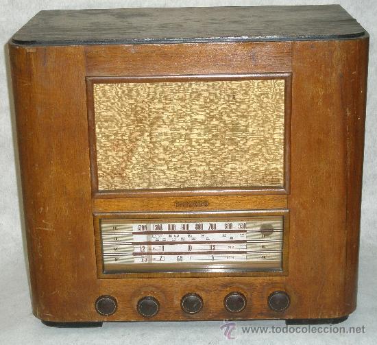 ANTIGUA RADIO - CHICAGO - VER FOTOS (Radios, Gramófonos, Grabadoras y Otros - Radios de Válvulas)