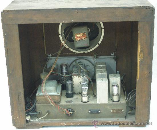 Radios de válvulas: ANTIGUA RADIO - CHICAGO - VER FOTOS - Foto 3 - 17651568
