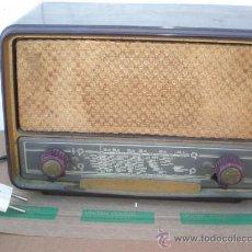 Radios de válvulas: RADIO DE VALVULA BAQUELITA PHILIPS. Lote 20031177