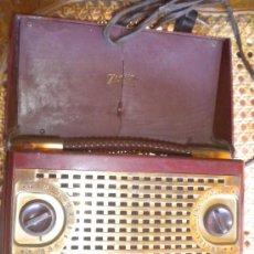 Radios de válvulas: RADIO ZENETTE DE ZENITH, BAQUELITA, 20X10X13, ENCIENDE PERO NO FUNCIONA. Lote 20859279
