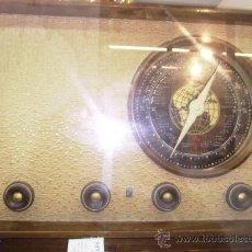 Radios de válvulas: RADIO :T.R. ELERSON MEDIDAS 46 CM X 25 CM REPASADA ORIGINAL Y FUNCIONANDO. Lote 26799773