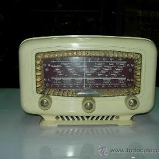 Radios de válvulas: RADIO ESPAÑOLA FUNCIONANDO. Lote 26483403