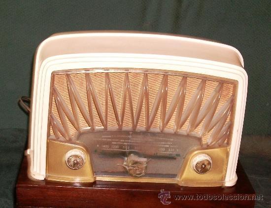 RADIO MOD. PHILIPS DE VALVULAS MD.25X16X13 CM.FUNCIONA A 125V. (Radios, Gramófonos, Grabadoras y Otros - Radios de Válvulas)