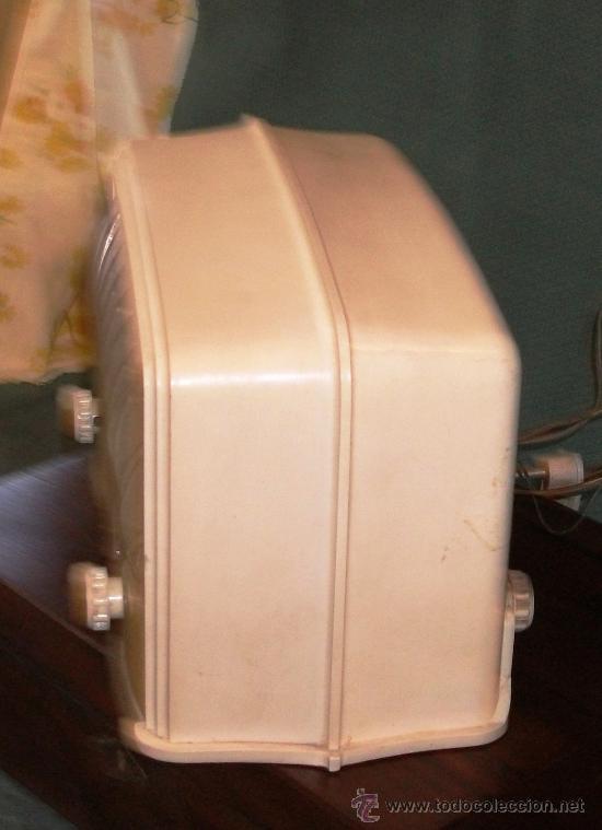 Radios de válvulas: Radio Mod. Philips de Valvulas Md.25x16x13 Cm.Funciona a 125v. - Foto 2 - 24409200