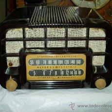 Radios de válvulas: RADIO GENERAL ELECTRIC FUNCIONANDO. Lote 27215892
