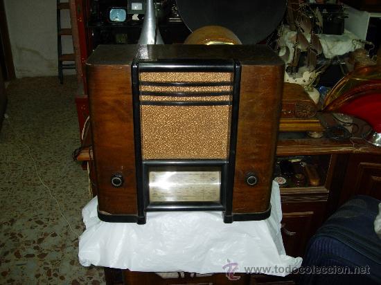 RADIO SBR MOD 384 U (Radios, Gramófonos, Grabadoras y Otros - Radios de Válvulas)