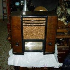 Radios de válvulas: RADIO SBR MOD 384 U. Lote 27215895