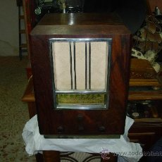 Radios de válvulas: RADIO SIN MARCA. Lote 126494655