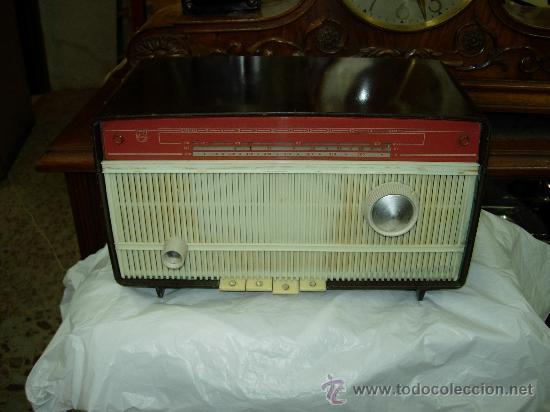 RADIO PHILIPS FUNCIONANDO (Radios, Gramófonos, Grabadoras y Otros - Radios de Válvulas)