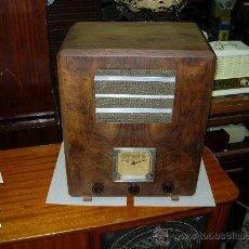 Radios de válvulas: RADIO FUNCIONANDO. Lote 26258560