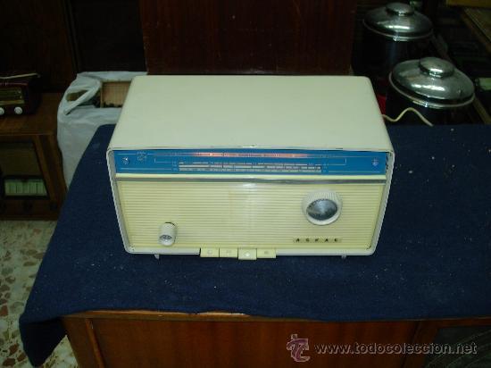 RADIO ASKAR FUNCIONANDO (Radios, Gramófonos, Grabadoras y Otros - Radios de Válvulas)