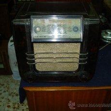 Radios de válvulas: RADIO UNIC. Lote 27022505