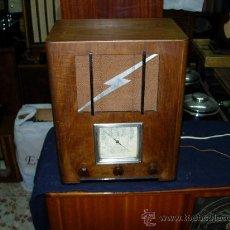 Radios de válvulas: RADIO SIN MARCA. Lote 27022507