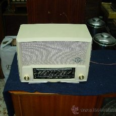 Radios de válvulas: RADIO DUCRETET FUNCIONANDO. Lote 27095013