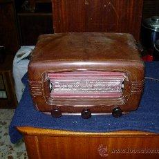 Radios de válvulas: RADIALVA SUPER AS 50. Lote 27125503