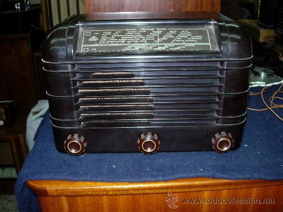 RADIO ROLAND BRANDT (Radios, Gramófonos, Grabadoras y Otros - Radios de Válvulas)