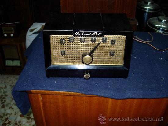 RADIO PACKARD BELL FUNCIONANDO (Radios, Gramófonos, Grabadoras y Otros - Radios de Válvulas)