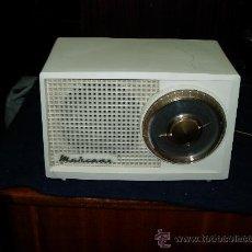 Radios de válvulas: RADIO MARCONI FUNCIONANDO. Lote 27148077