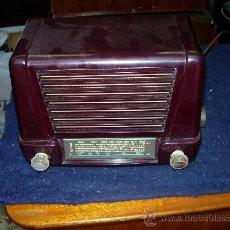 Radios de válvulas - Radio española funcionando - 27192738