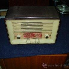 Radios de válvulas: RADIO ASKAR FUNCIONANDO. Lote 27215889