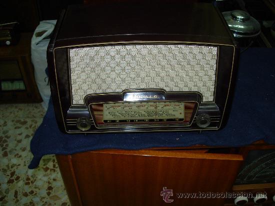 RADIO IBERIA FUNCIONANDO (Radios, Gramófonos, Grabadoras y Otros - Radios de Válvulas)