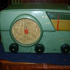 Radios de válvulas: RADIO CROSLEY FUNCIONANDO. Lote 27235313
