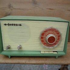 Radios à lampes: RADIO SIERA A VÁLVULAS - ANTIGUA - VINTAGE. Lote 27246808