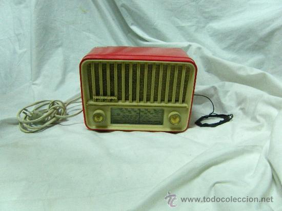 RADIO TELEFUNKEN-MOD.PANCHITO (Radios, Gramófonos, Grabadoras y Otros - Radios de Válvulas)