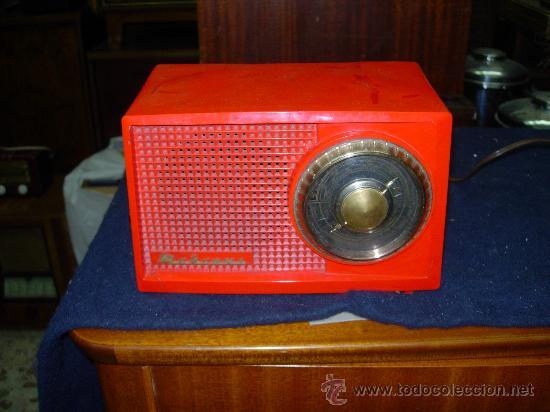 RADIO MARCONI FUNCIONANDO (Radios, Gramófonos, Grabadoras y Otros - Radios de Válvulas)