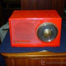 Radios de válvulas: RADIO MARCONI FUNCIONANDO. Lote 26463075
