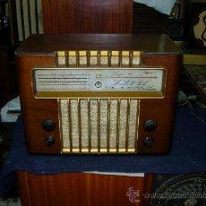 Radios de válvulas: RADIO MARCONI FUNCIONANDO. Lote 26487175