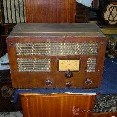 Radios de válvulas: RADIO INGLESA. Lote 26487252