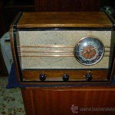 Radios de válvulas: RADIO IBERIA FUNCIONANDO. Lote 26803726